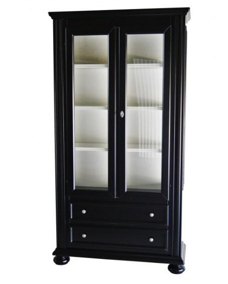 svart vitrinskåp från Furniturebox